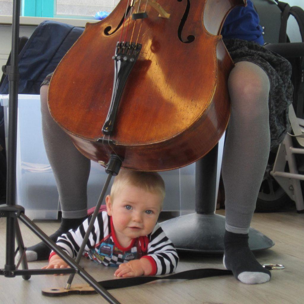 Babyconcertjes_klarinet en kerstbellen