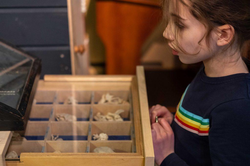 Kind bij vaste collectie Pieter Vermeulen museum