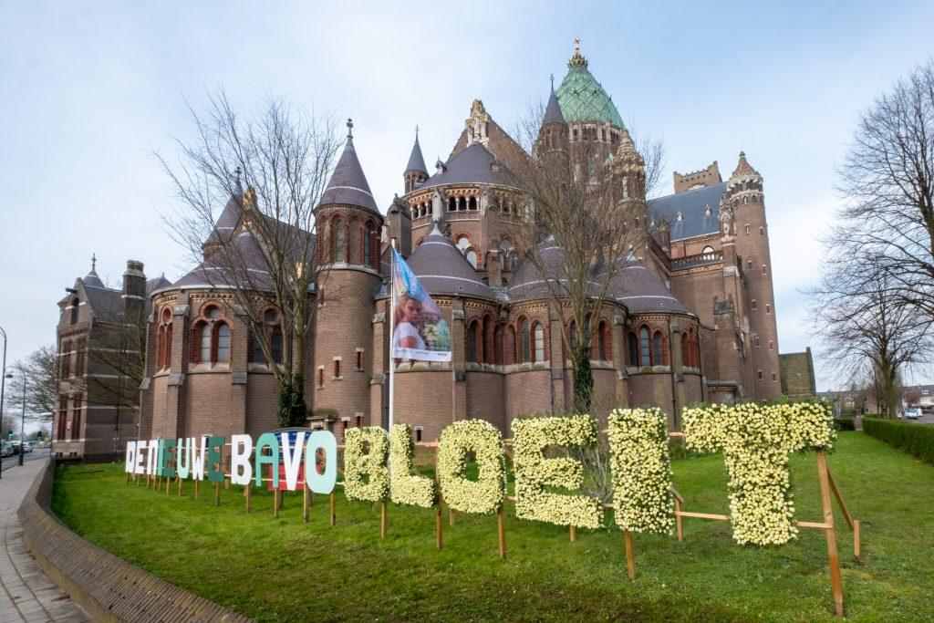 De nieuwe Bavo bloeit cathedral Haarlem