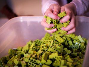 Spelen met LEGO bij ABC Architectuurcentrum Haarlem