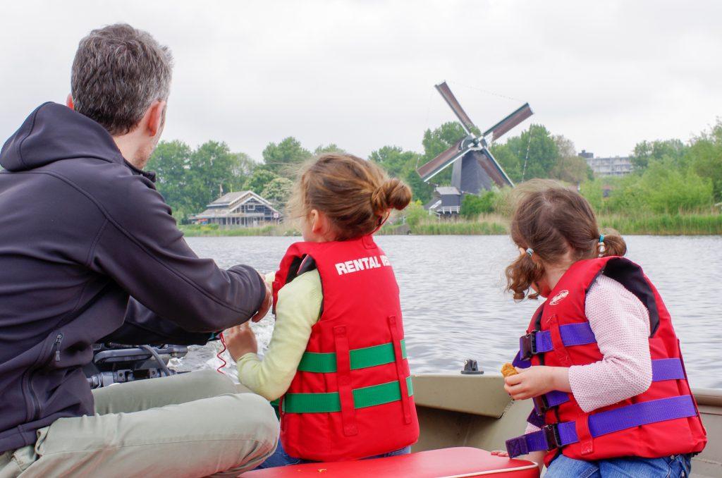 Verkoeling op het water in Haarlem
