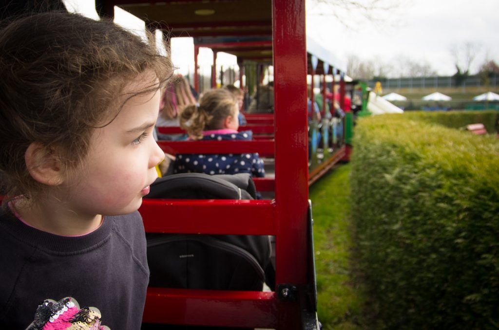 Linnaeushof speeltuin treintje