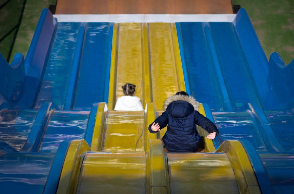 Linnaeushof speeltuin glijbaan