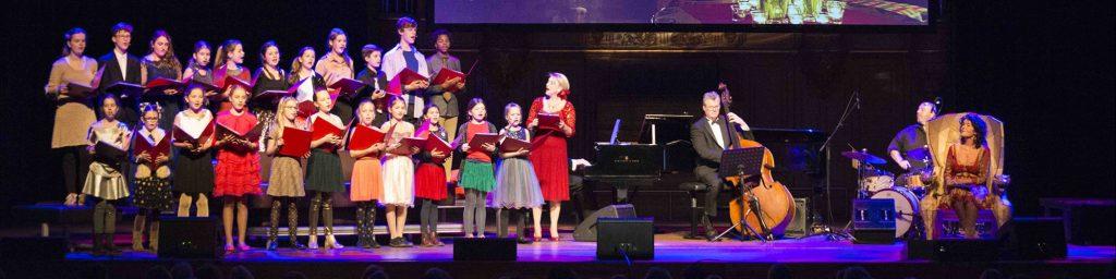 Familie Meezing Kerstconcert Philharmonie