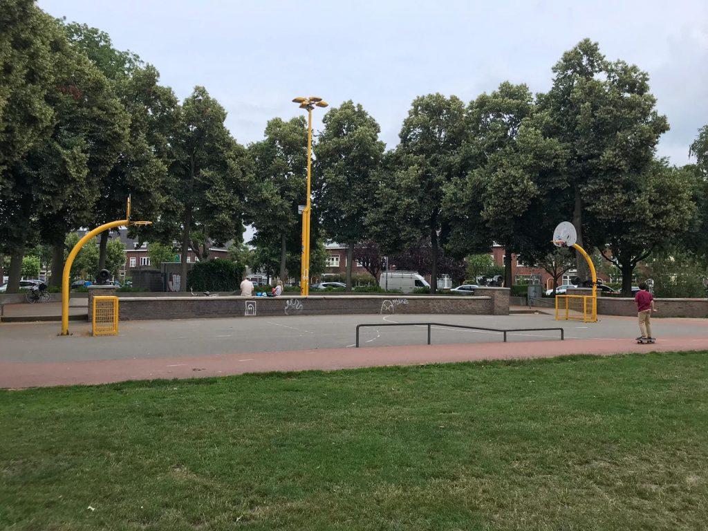 Skating rink at Zaanenpark Haarlem