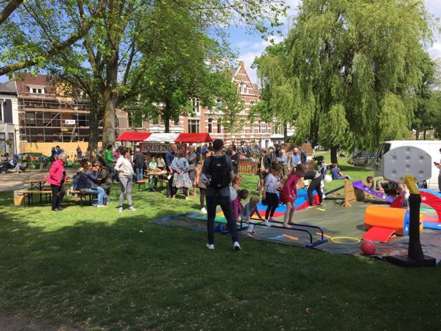 Overzicht Kleverparkfestival Haarlem