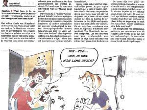 Haarlems Dagblad artikel Mugjes Luier Awards