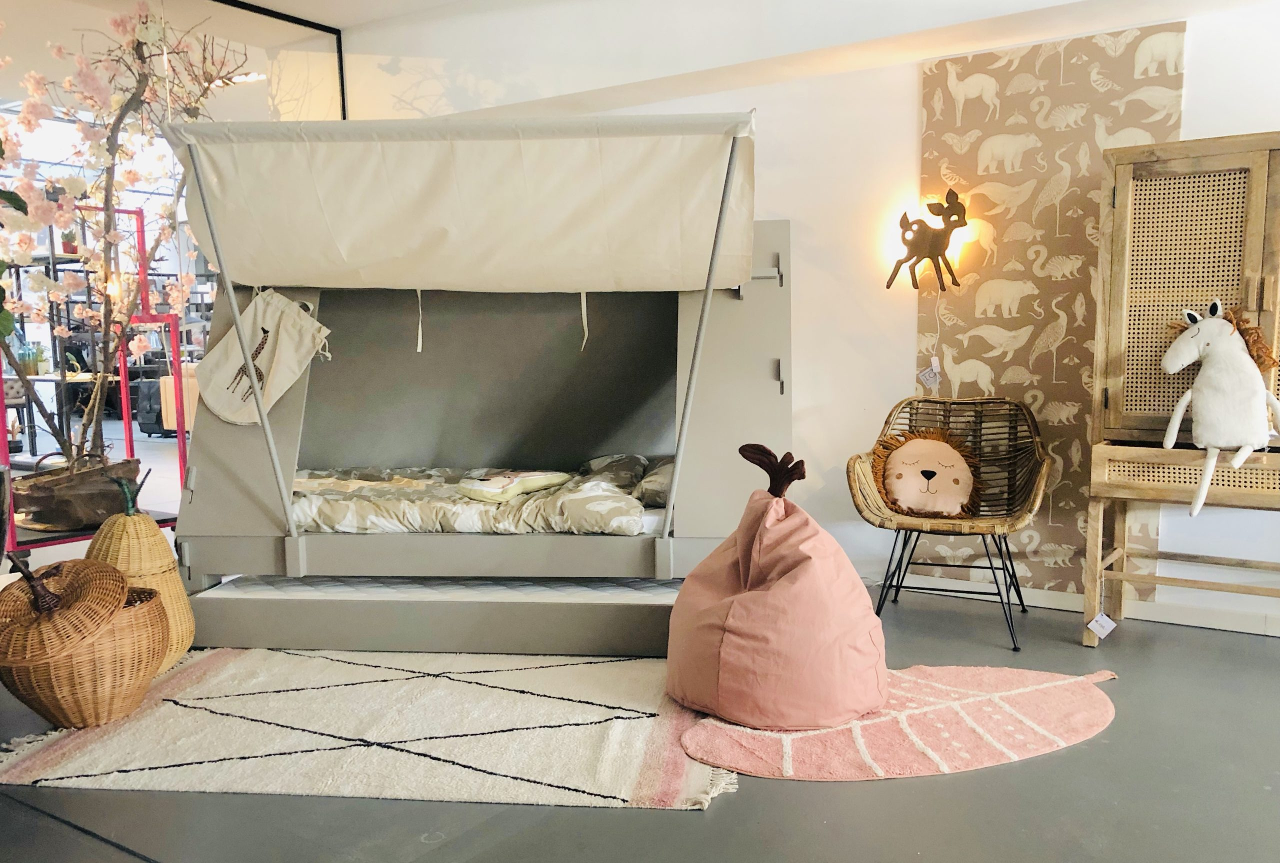 Kids Architects tentbed kinderkamer accessoires interieur babykamer Haarlem mugjes