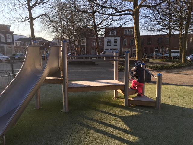 Speeltuin Pretoriaplein Transvaalbuurt Haarlem