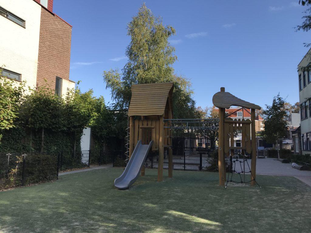 Speeltuintje Vrije School Wouwermanstraat Kleverpark