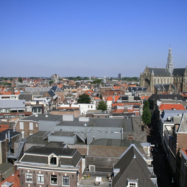 Uitzicht Haarlem vanaf Hudsons Bay