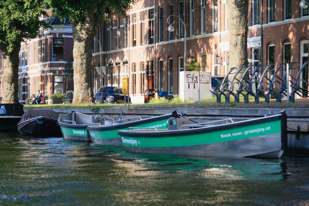 Greenjoy sloepen Leidsevaart Haarlem