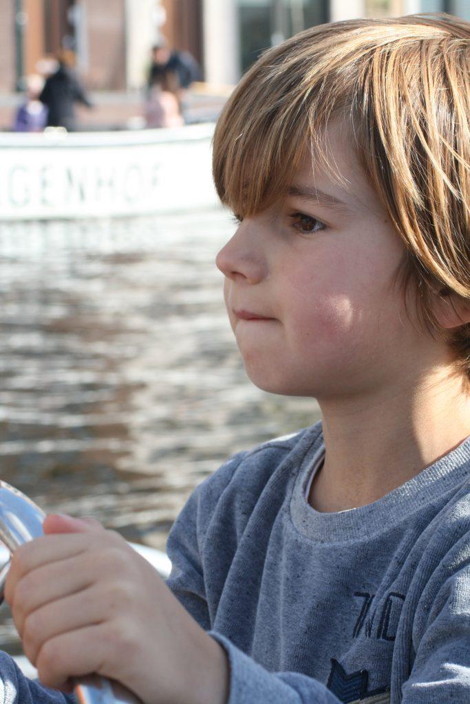 Kind mag zelf varen