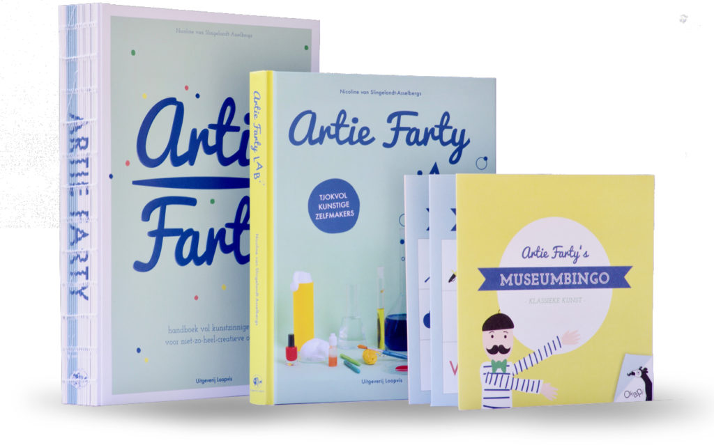 Artie Farty arts and craft books Haarlem